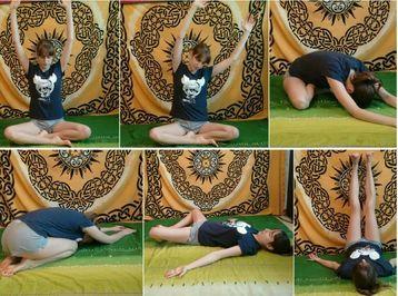 Web card entrenamiento estiramientos antes dormir