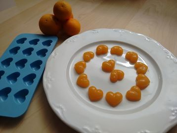 Web card nutricion receta golosinas sin azu