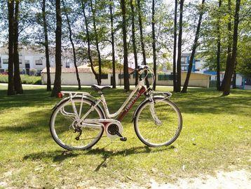 Web card bicicleta salud